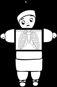 Esquisse de scan corporel