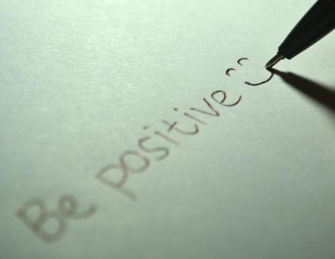 Stress reduzieren - Positiv denken